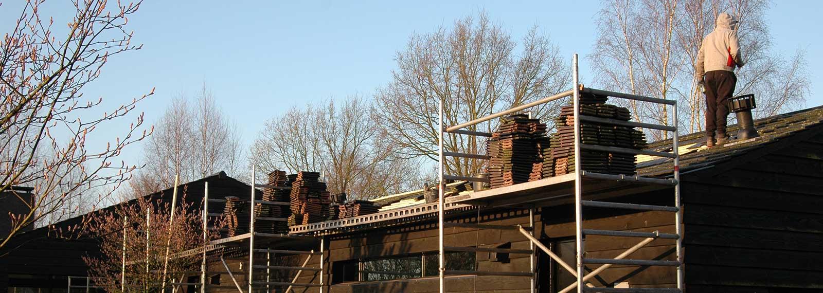 Dakdekkersbedrijf Zevenbergen steigerbouw